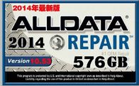 China 576G Alldata 10.53 Car Repair Information Software / Auto Diagnostics Software company