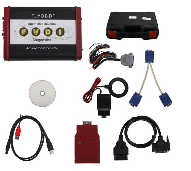 Professional Auto Scanner Tool Vag Can Commander For Porsche V4.1