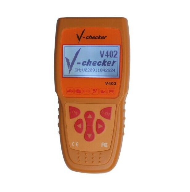 Traditional Chinese English VAG Oil Reset Code Scanners For Cars V402