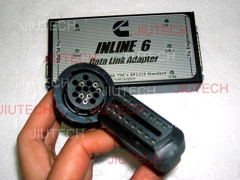 Cummins Engine Diagnosis Inline6 Heavy Duty Truck Diagnostic Scanner
