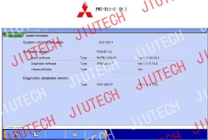 Fuso Diesel Vehicle Construction Scanner Fuso Truck Scanners Diagnostic