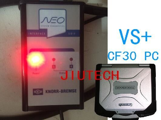 Knorr - Bremse Knorr Knorr Bremse Diagnosis Scanner + Cf30 Full Set
