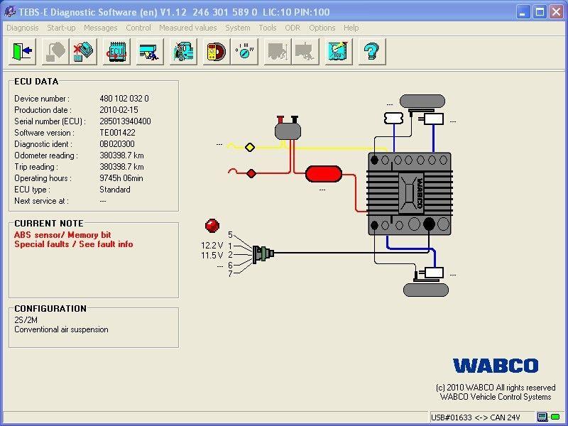 Wabco Ebs Wiring Diagram Trailer on