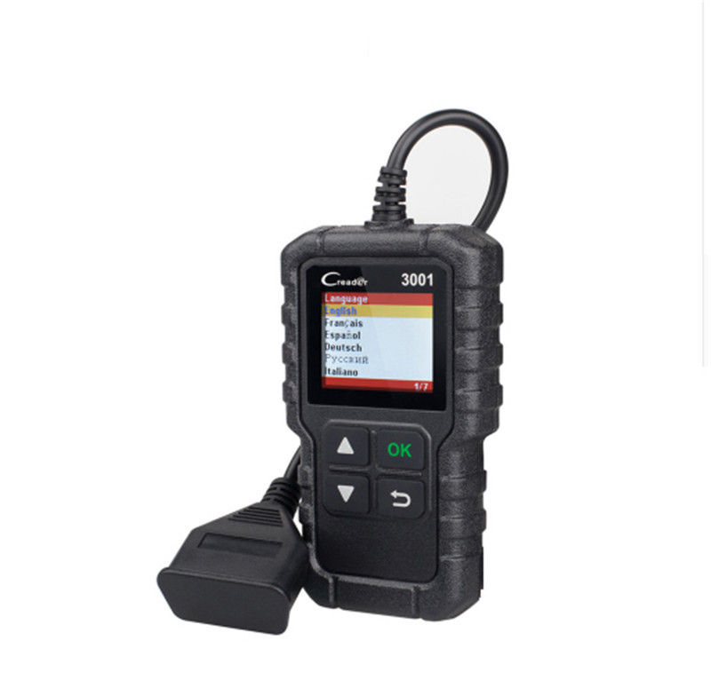 X-431 Creader 3001 Launch OBD2 Code Reader Scanner , Full EOBD OBD II Code Reader CR3001