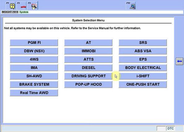 V3 002 032 Honda HDS HIM Universal Car Diagnostic Scanner