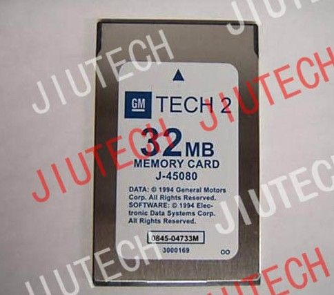 32MB Gm Tech2 Scanner Diagnostic Software Cards For Euro4 / Euro 5 / ISUZU Trucks