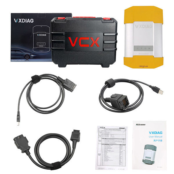 VXDIAG VCX DoIP Universal Car Diagnostic Tool V153 DOIP Software HDD For Jaguar Land Rover