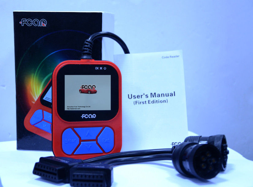 F502 Heavy Vehicle Code Reader Fcar Diagnostic Tool For Heavy Duty Trucks
