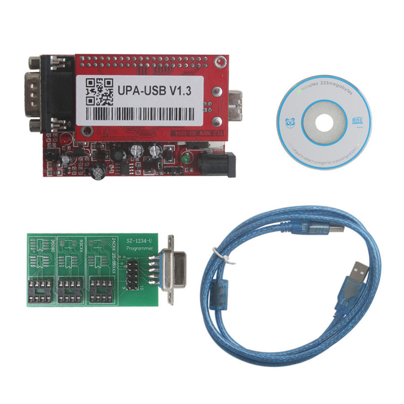 ECU Chip Tuning UPA USB Programmer for 2013 Version Main Unit