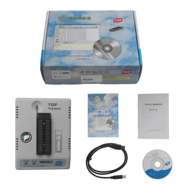 TOP2011 USB Universal Programmer Interface with PC  , Ecu Chip Tuning Tools