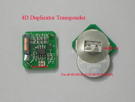 4D Duplicable Transponder