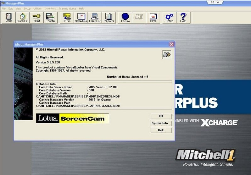 Mitchell Manager Plus Truck Diagnostic Software for heavy truck