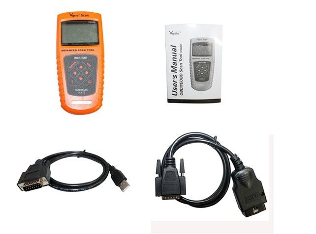 VS600 Vgate Code Scanners For Cars / OBDII Compliant Vehicles / Nine OBDII Test Modes