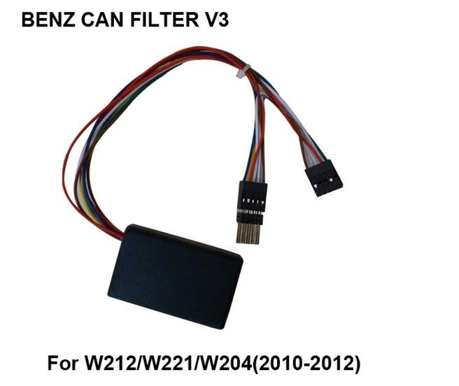 Automotive ECU Programmer BENZ CAN FILTER FOR W212 / W221 / W204 / Mercedes EIS