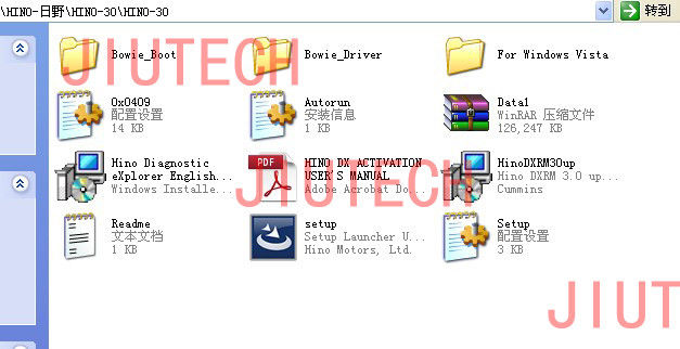 V3.0 Hino Diagnostic Explorer & Reprog Manager with 1 keycode, Full Customize Capability