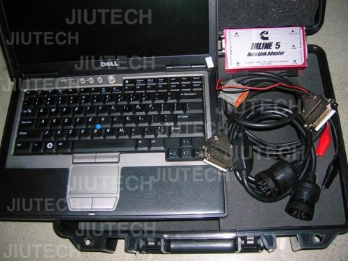 Full Set Cummins Insite Inline5  + laptop +  Calterm For Excavator Scanner