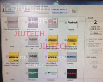 Truck Diagnostic Software Of CNH EST 7.7 Keygen / Activator