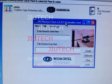 Nissan UD V3.01 Software Keygen for Nissan Truck Diagnostic Software