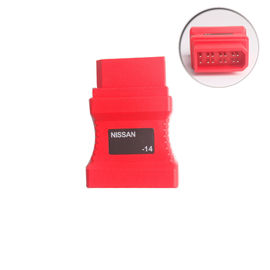 Nissan-14 Male / DB15P Femaled Autel Diagnostic Tools For Autel DS708