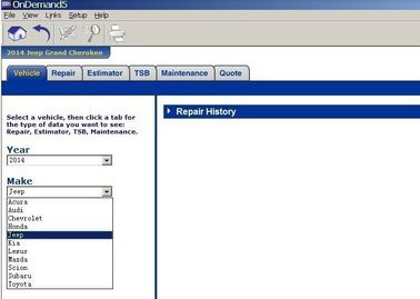 Auto Diagnostics Software 2014Version Mitchell Ondemand 5