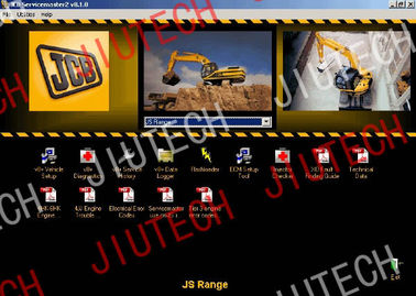 China Auto Diagnostics Software JCB Servicemater 2 v8.1.0 With Multi Language Editing Tool factory