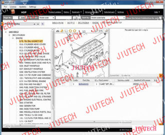 China Auto Diagnostics Software Hitachi Parts Catalogue 2011 For Heavy Construction Machines factory