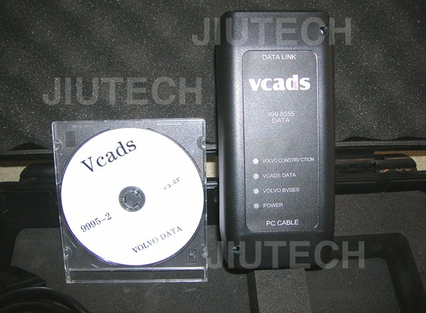 VOLVO VCADS VOLVO Interface 9998555 for Volvo Truck and Volvo Excavator diagnostic scanne