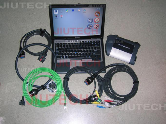 D630 Laptop with MB SD Connect Compact 4 Mercedes Star Diagnosis Tool 201607