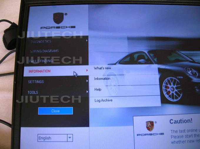 Porsche Piwis KTS 520 Software Hard Disk