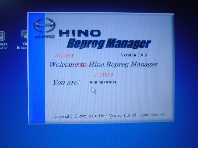 Hino Reprog Manager V3.0 / Hino Diagnostic Software for Hino Ecu Engine Progamming
