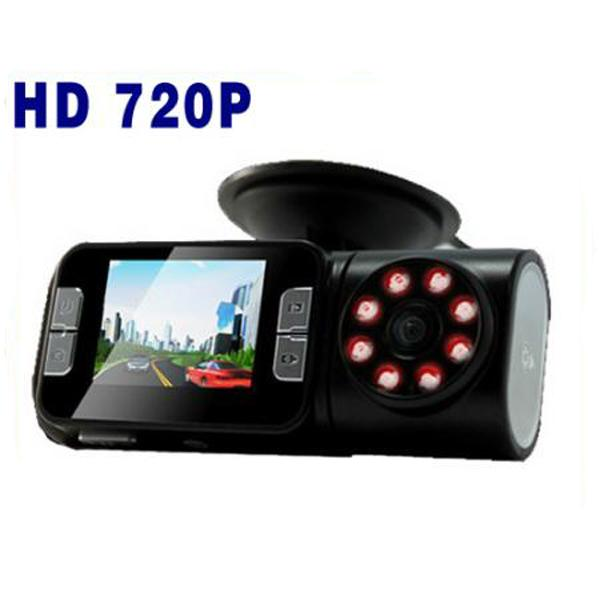 5000,000 Pixels Wide 150 degree HD 720P IR Night Vision Car Dash Cam Video Camera Recorder DVR