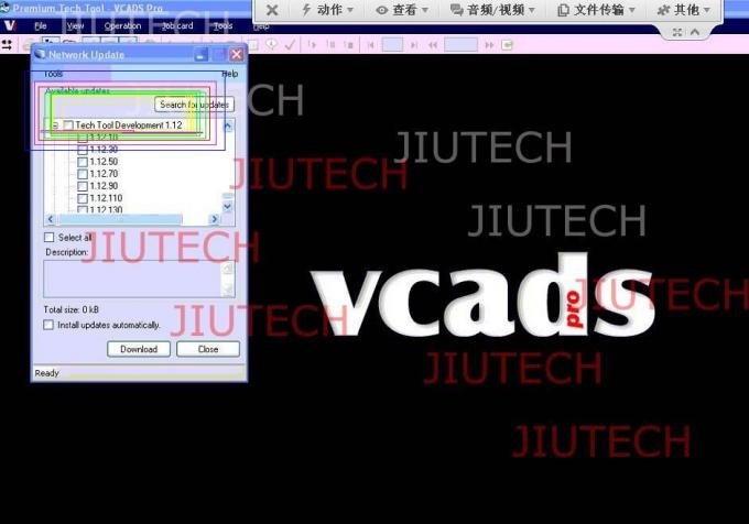 Volvo vcads with full cables + d630 laptop +  PTT + dev2tool.exe