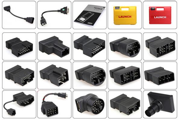 20 OBDII Adaptor KIA-20 OBD-II Connector OBD 100/% Original LAUNCH X431 IV KIA