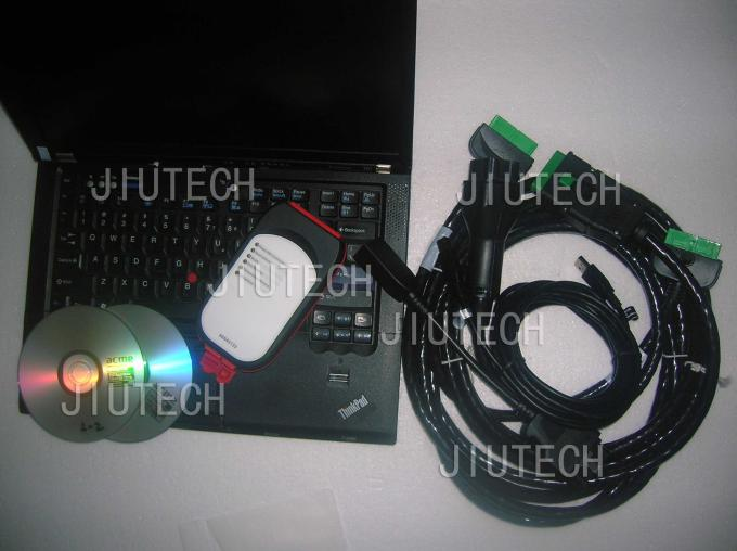 RD630 Laptop With Heavy Duty Truck Diagnostic Scanner For Renault NG10 Truck