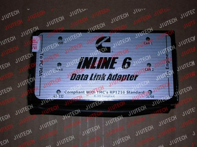 Cummins Inline 6 Data Link Adaptor For Excavator Scanner With Ce Approval