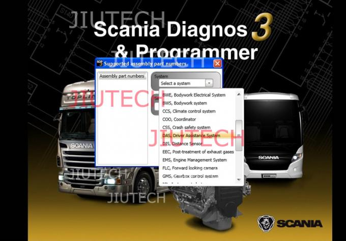 Scannia SDP3 Truck Diagnostic Software Use On Winxp Systerm