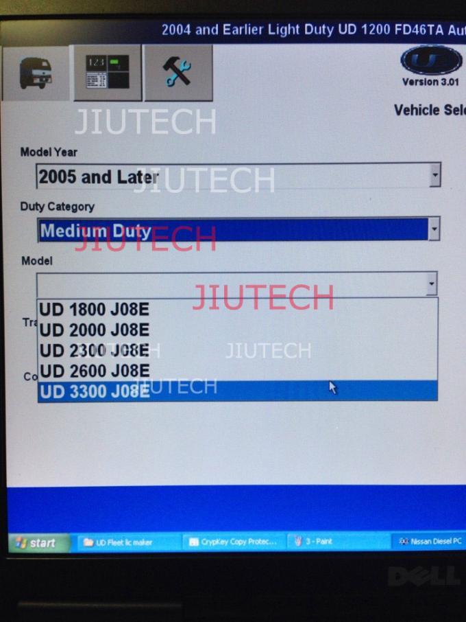 Medium Duty Truck Diagnostic Software 2013 Nissan UD V3 01