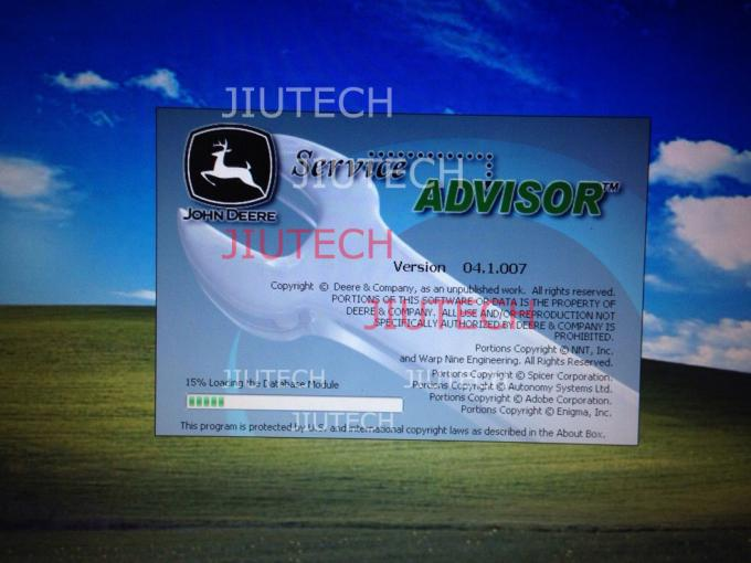 John Deere Service Advisor Truck Diagnostic Software 4.1 AG For Agriculture