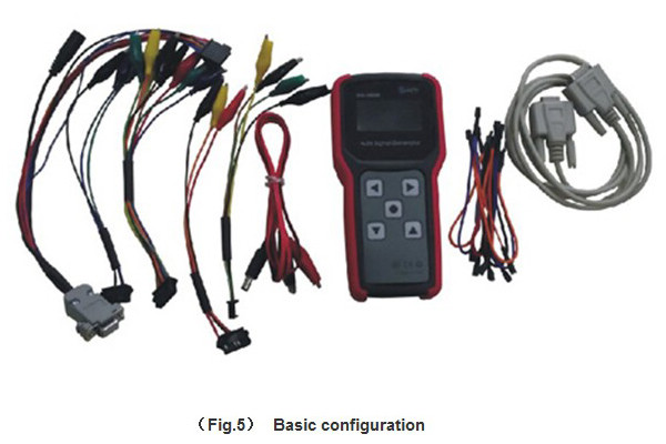 3055B SKS-3055B ECU Signal Generator Car Tuning Software For