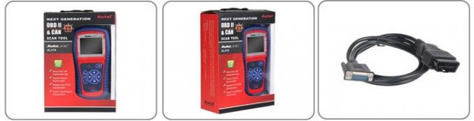 Original Autel AutoLink AL419 OBDII And CAN Scan Tool , Autel Diagnostic Tools