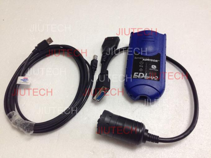 John Deere Scanner Edl Diagnostic Kit , engine diagnostic tool