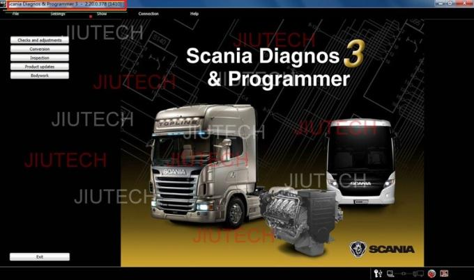 Dell D630 Scania Vci2 Diagnostic Scanner For Marine Industry Engine