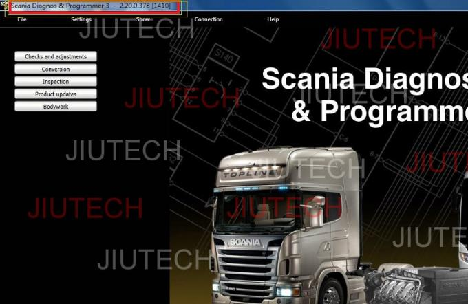 SDP3 Scania VCI 2 For Truck