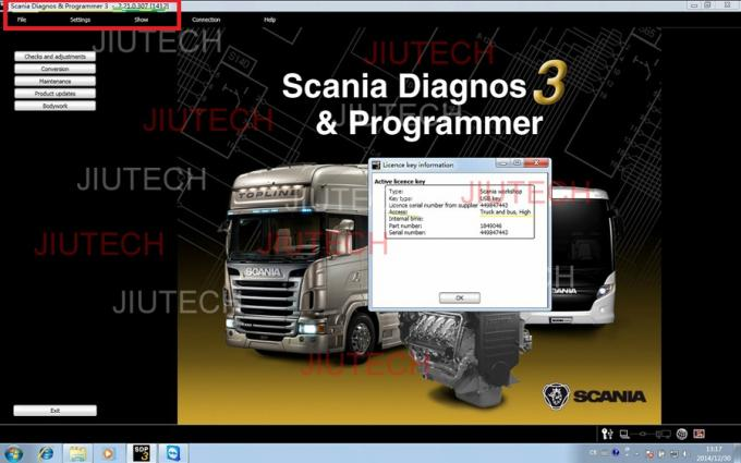 Scania VCI2 heavy duty Truck Diagnostic Scanner V2.2.1, Multi-Languages