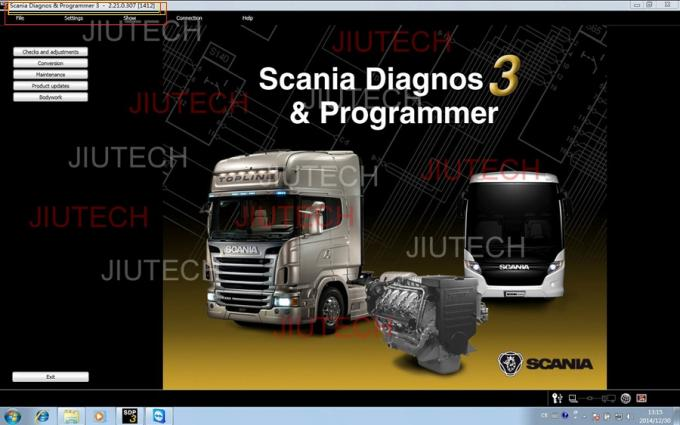 Scania Vci 2.2.1 SDP3 With D630 Laptop Full Set Scania Truck Diagnost