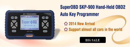 UperOBD SKP 900 Hand Held OBD2 Auto Key Programmer V3.4