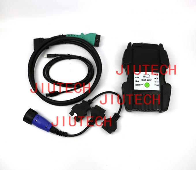 Full Set Man Heavy Duty Truck Diagnostic Scanner 14.1 With E6420 Laptop T200 Usb Cable
