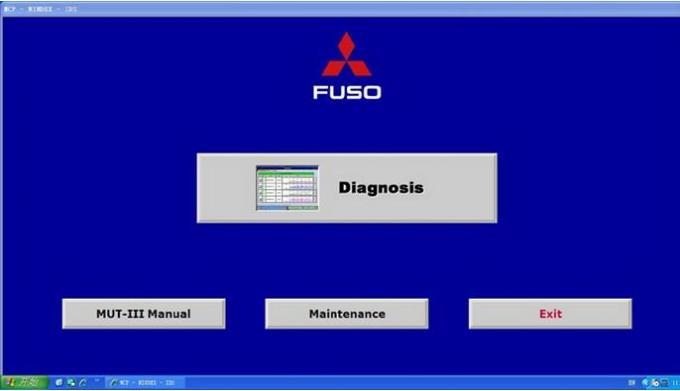 Fuso MUT3 Heavy Duty Truck Diagnostic Scanner Fuso Diesel vehicle