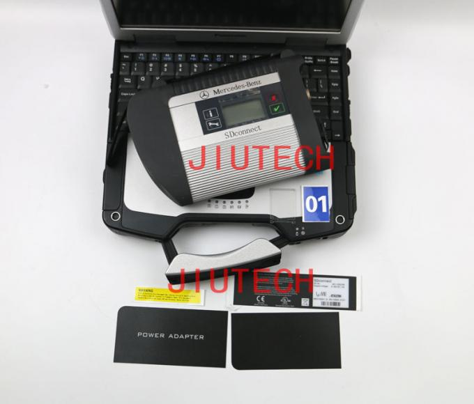 For MB SD C4 Benz Heavy Duty Truck Diagnostic Tool Full Set + CF30