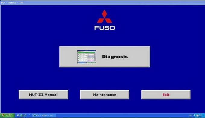 Fuso Truck Diagnostic Scanner Full Set